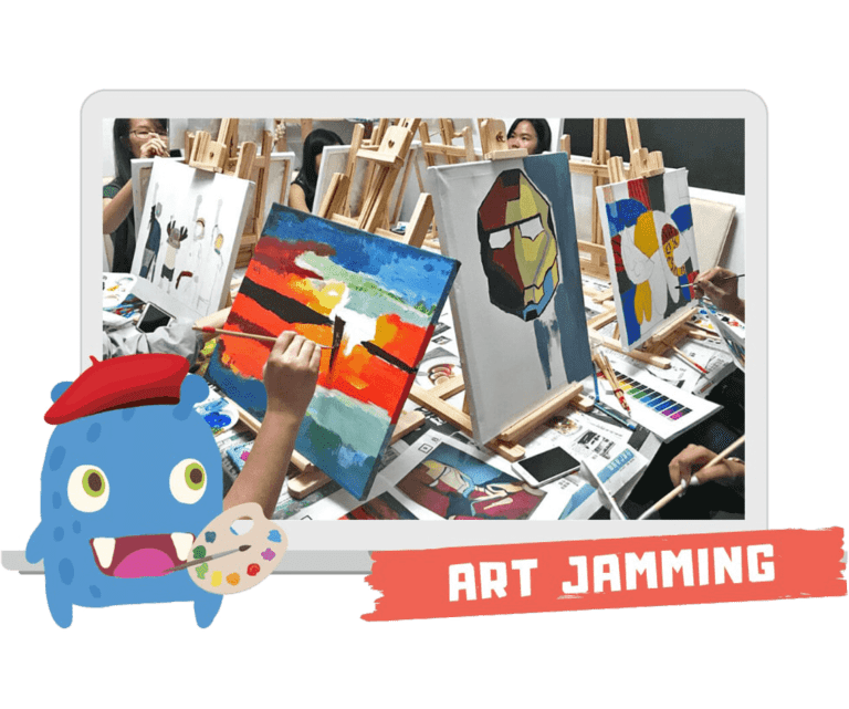 Virtual Art Jamming